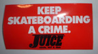 Juice Sticker